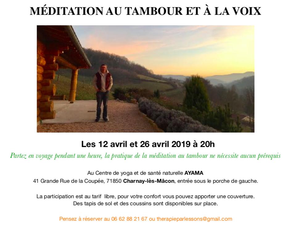 affiche meditation